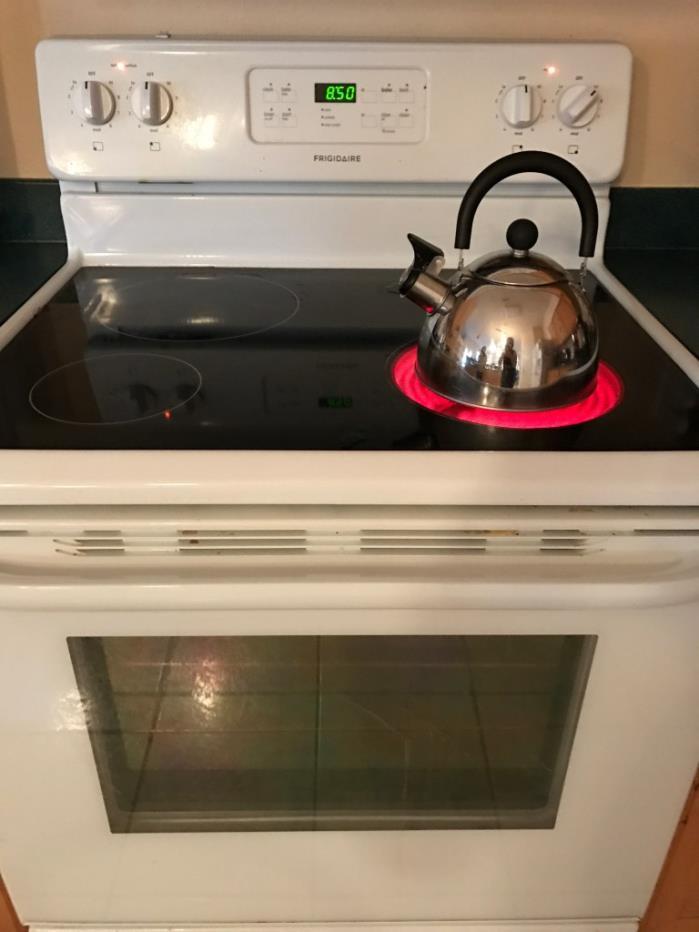 Glass top stove, like new