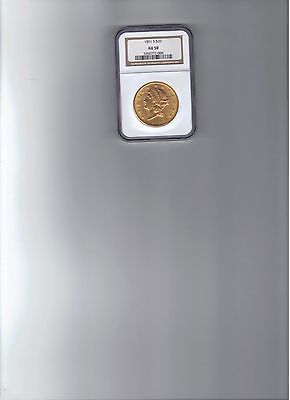 $20.00 Double Eagle US Coin 1891s NGC 58**REDUCED