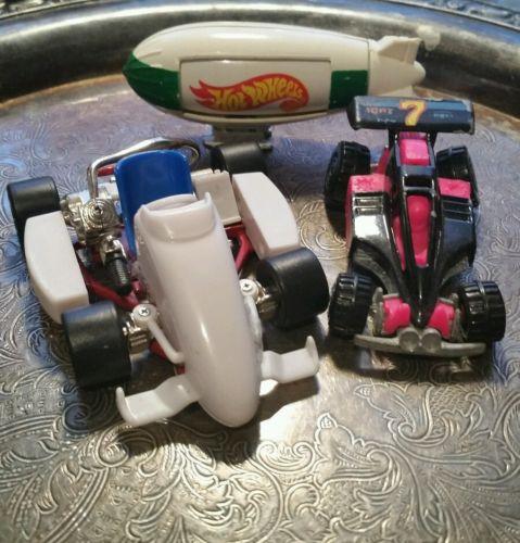 Racing Go Kart Tony RARE, Shock Factor & Fuji Film Hot Wheels blimp fuji LOT