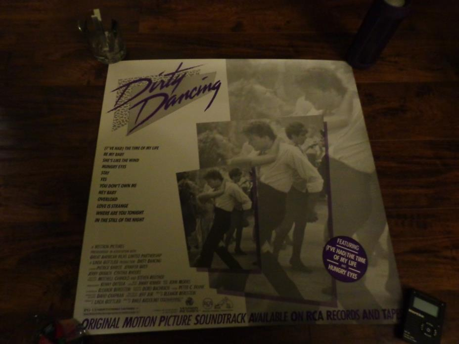 DIRTY DANCING MOVIE SOUNDTRACK POSTER