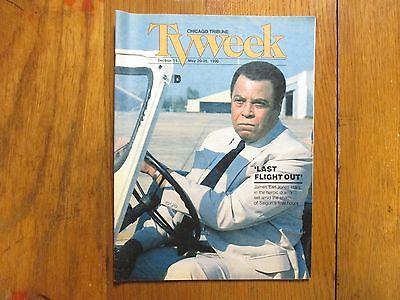 Ma-1990 Chicago Tribune TV Week (JAMES EARL JONES/RICHARD CRENNA/LAST FLIGHT OUT