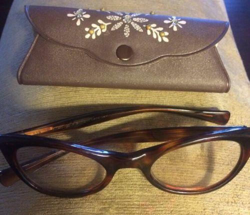 Vintage Eyeglasses American Optical Company Eyewear Cat eye Style Frames