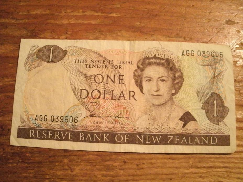 ONE DOLLAR RESERVE BANK OF NEW ZEALAND NOTE