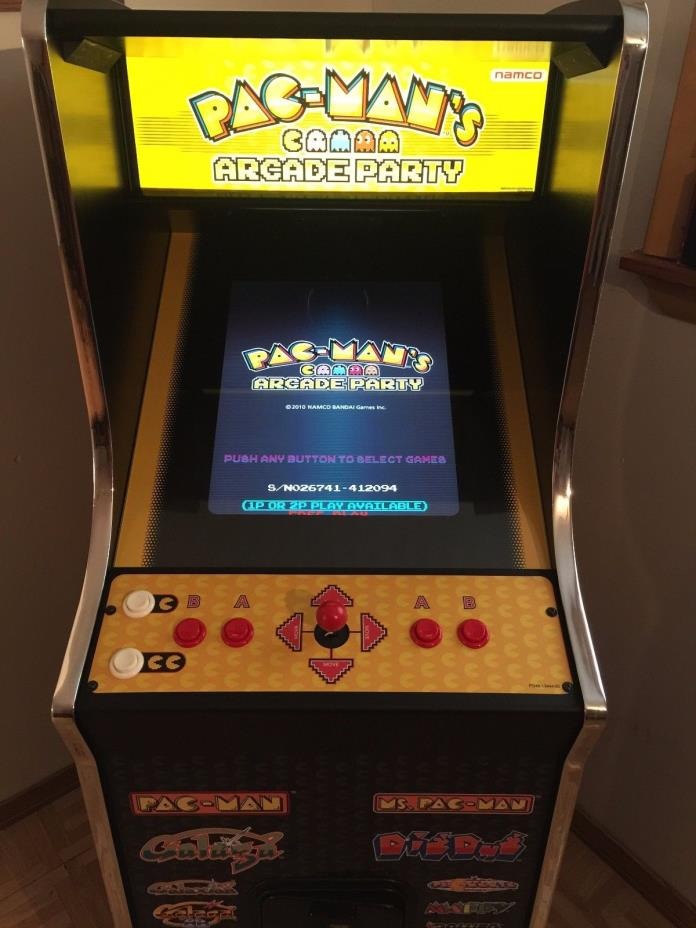 Pac-Man's Arcade Party Arcade Machine