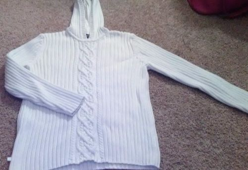 Women's creme Ralph Lauren knitted sweater size large