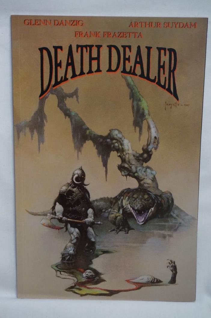 SUYDAM Art ~ DEATH DEALER Comic # 4 ~ FRANK FRAZETTA ~ GLENN DANZIG Verotik