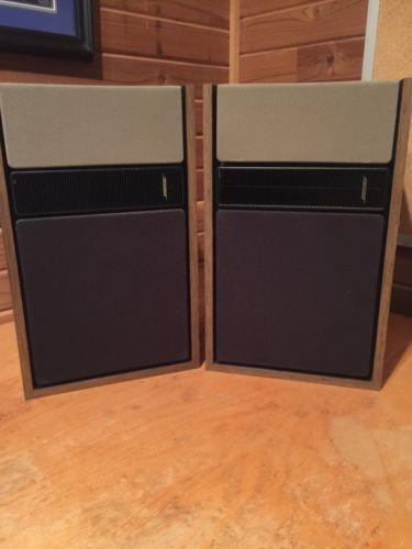 Bose 301 Series II Dir/Reflecting Stereo Speakers Brown
