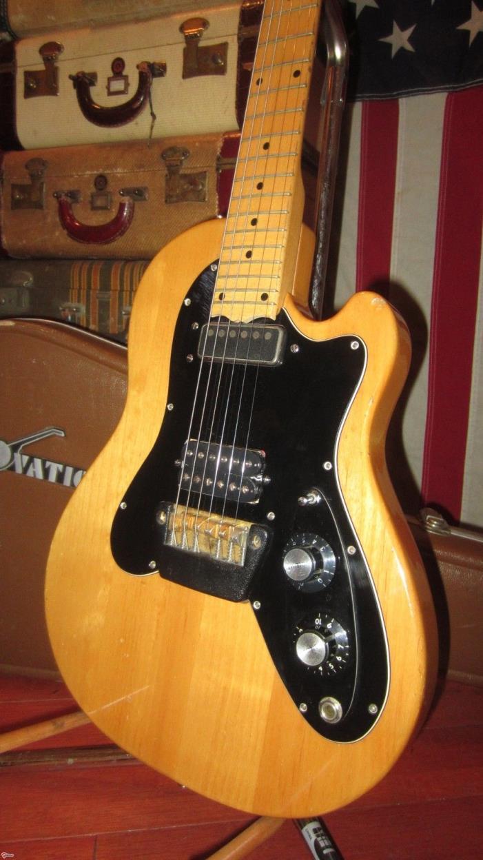 Vintage Original Circa 1976 Ovation Viper Guitar Solidbody Electric Cool Vibe!