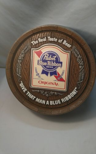 Pabst Blue Ribbon Vintage Collectible Wall Decor