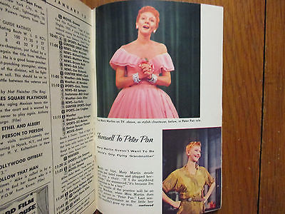Jan-1956 TV Guide(MARY MARTIN/PETER PAN/VAUGHN MONROE/LIFE OF RILEY/MICKEY MOUSE