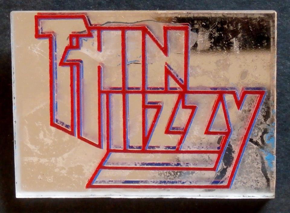 THIN LIZZY, MIRROR, Collectible PIN, Warner Bros 1979