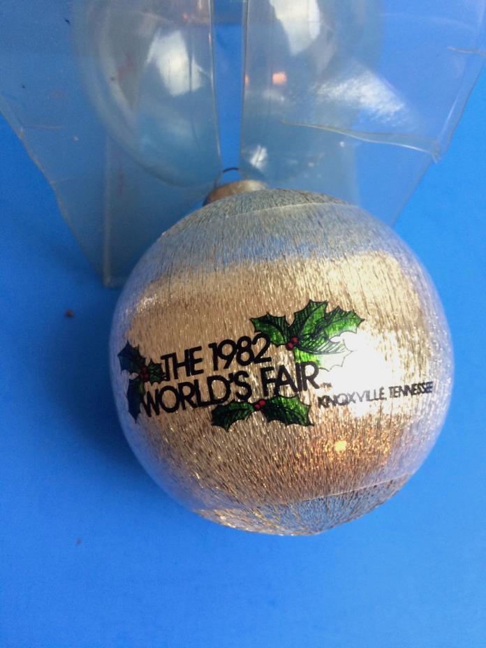 1982 World's Fair Christmas Ornament