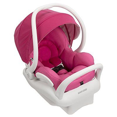 Infant Maxi-Cosi Mico Max 30 Infant Car Seat White Collection, Pink Berry