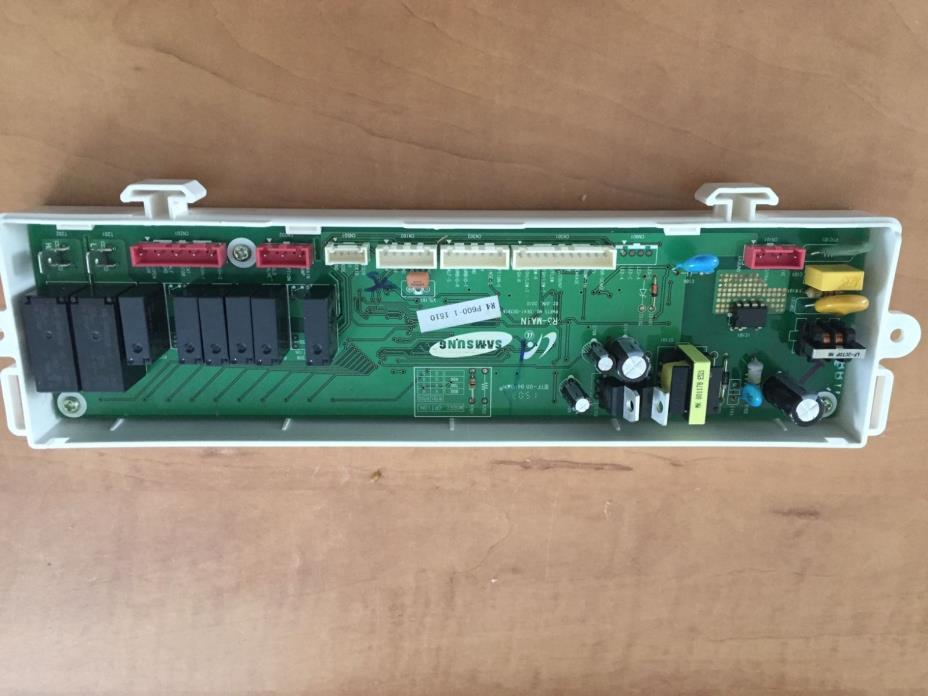 SAMSUNG Dishwasher - MAIN CONTROL BOARD w/Cover - OEM DD92-00033C - EUC!