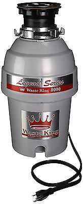 Waste King Legend Series 1.0-Horsepower Continuous-Feed Garbage Disposal -NEW