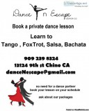 Salsa, Bachata, Merengue, Swing, Rumba ETC Dance Lessons