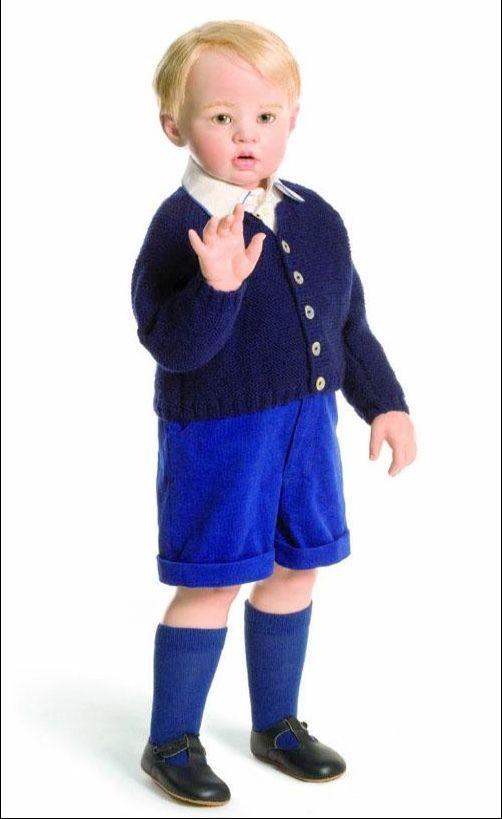 Hildegard Gunzel Doll 'Prince Charming - George' 2016- Brand New