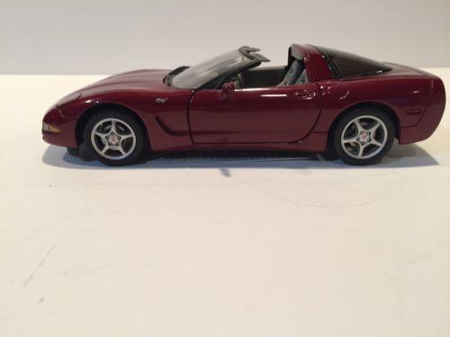 Franklin Mint 2003 50th Anniv. Limited Edition Corvette Coupe (B11C471)