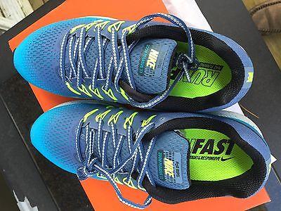 NIKE AIR ZOOM PEGASUS 33 SHIELD Running Shoes * Size 8