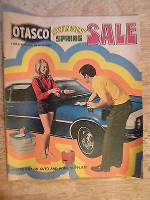 1971 OTASCO SPRING SALE CATALOG AUTO HOME SUPPLIES TOOLS LAWN MOWERS APPLIANCES