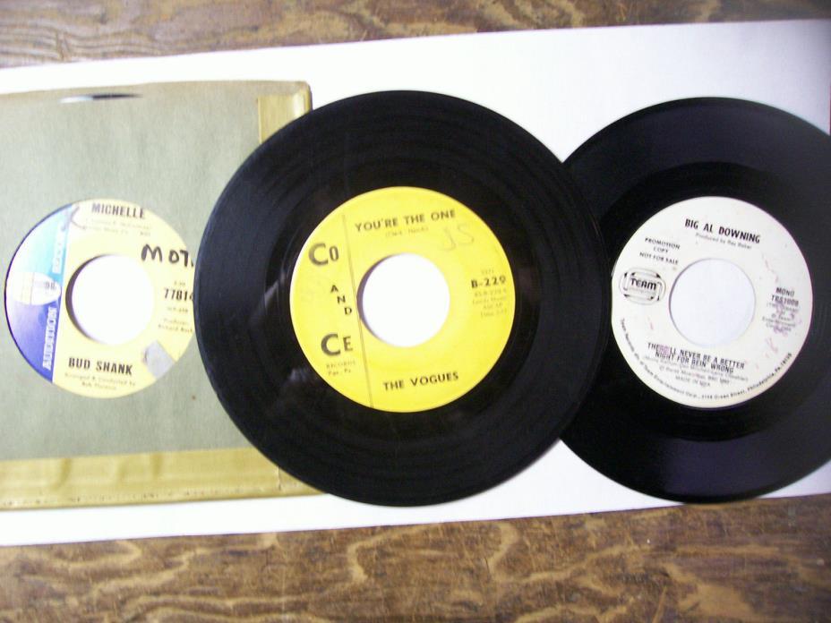 Bulk 45 rpm 175 # 2  jukebox records, Rockola, Seeburg, Wurlitzer
