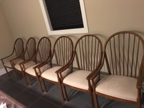 Drexel Heritage Oak Chairs Used