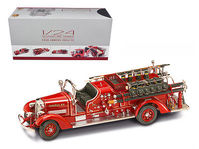 1938 Ahrens Fox VC Fire Engine Truck Red with Accessories