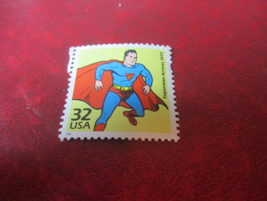 US Stamps - Superman - Unused