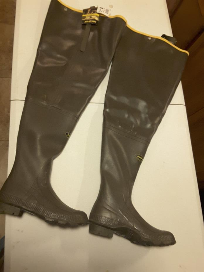 Lacrosse Hip Boots Size 8 Big Chief Waterproof Hunting Fishing Wading wader