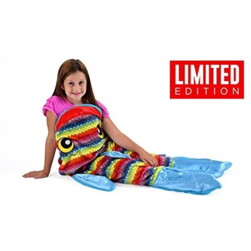 New Blankets Snuggie Tails Rainbow Fish Blanket For Kids