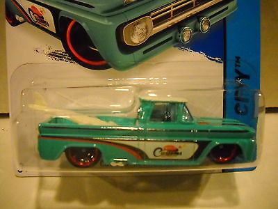 HOT WHEELS CUSTOM 62 CHEVY TRUCK ON CARD FREE SHIPPING