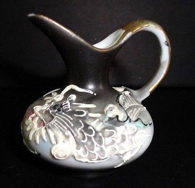 Dragonware Occupied Japan miniature pitcher