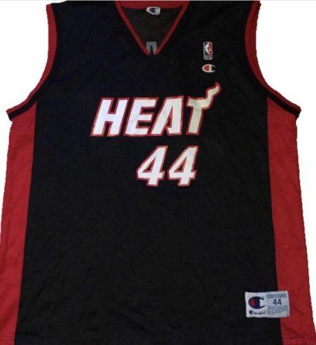 Vintage Brian Grant Champion Miami Heat Jersey NBA