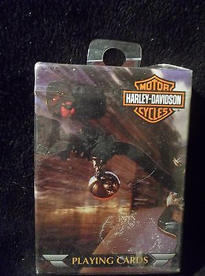 2002 HARLEY DAVIDSON MOTOR CYCLE PLAYING CARDS NEW SEALED!!!