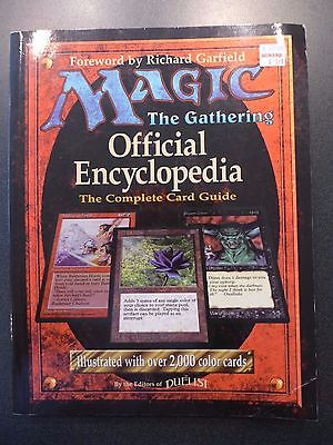 Magic the Gathering Official Encyclopedia - The Complete Card Guide V1 - DS27