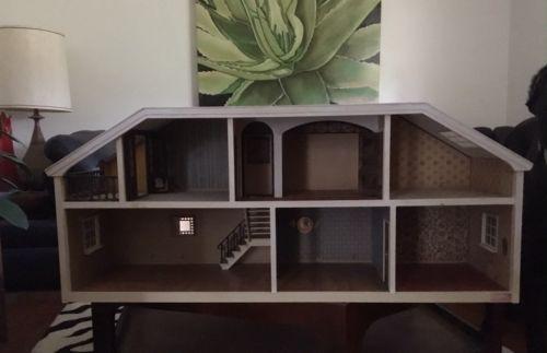 vintage lundby dollhouse & vintage furniture