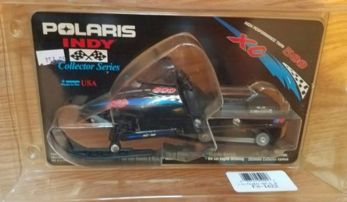 1999 Polaris Indy 500 XC Snowmobile 1/16 Scale Die Cast Collector Series