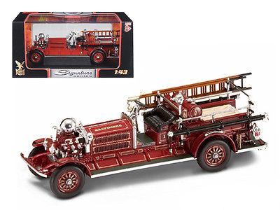 1925 Ahrens Fox N-S-4 Fire Engine Red