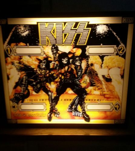 KISS 1977 PINBALL PINBALL WALL LIGHT