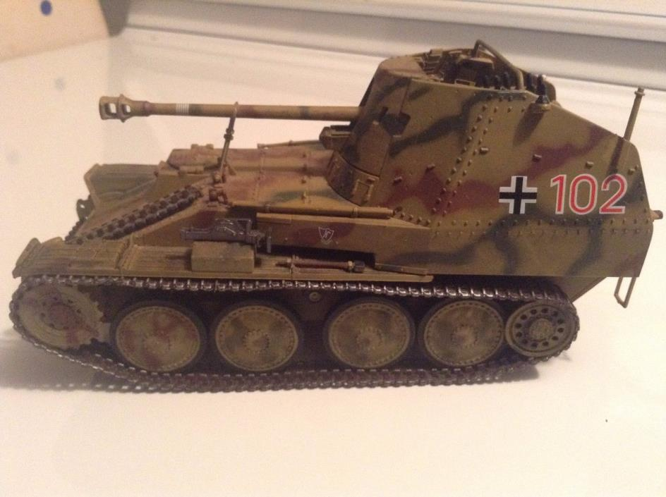 21ST CENTURY TOYS MARDER 111M Sd.KFZ GERMAN TANK WWII 1/32 *LOOSE*