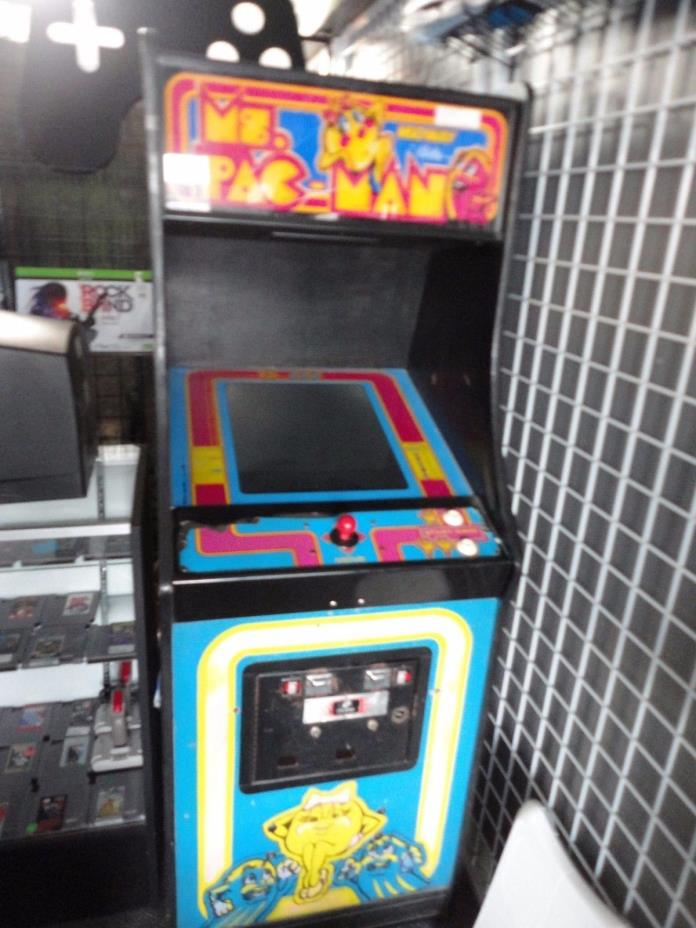 Ms. Pac Man Arcade Machine