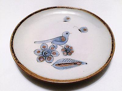 Ken Edwards El Palomar Mexico Tonala Bird Butterfly Salad Plate Bug Signature
