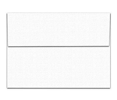 White Linen Textured A6 Envelopes - 4 3/4