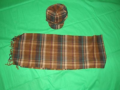 Hat with Matching Scarf ** USED **