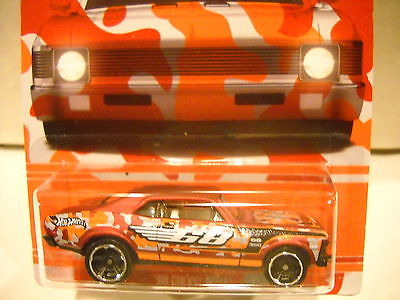 HOT WHEELS 68 CHEVY NOVA CAMOUFLAGE WALMART EXCLUSIVE ON CARD FREE SHIPPING