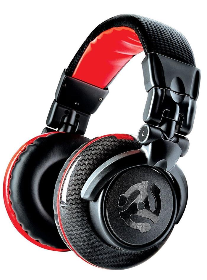 Headphones Numark Carbon Red Wave Dj Professional High Quality Level