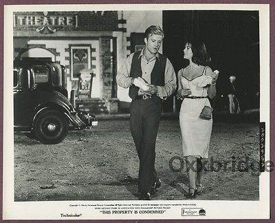 Natalie Wood & Robert Redford This Property Is Condemened 1966 Photo J507