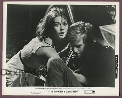 Natalie Wood & Robert Redford This Property Is Condemened 1966 Photo J513