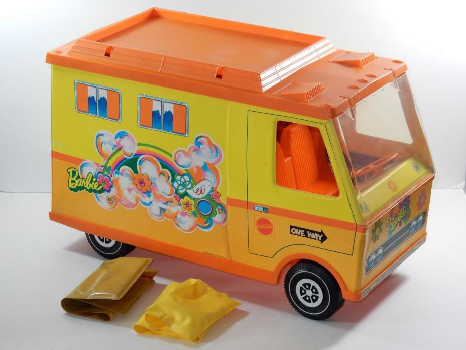 Mattel 1970 Barbie Country Camper