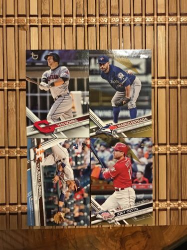 2017 Topps Baseball Numbered Card Lot